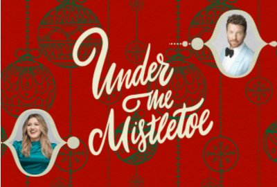 """""""Under The Mistletoe"""" out now!"""
